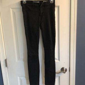 Bullhead Denim Co Skinny Black Jeans Sz 26
